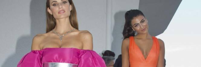 Dayane Mello e Giulia Salemi, spacco profondo a Venezia 1