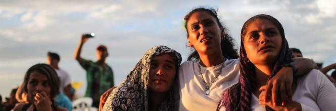 I ribelli delle Farc festeggiano l'accordo 7