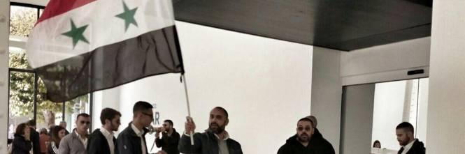 """Le bandiere di Fn contro """"Caesar"""" 1"""