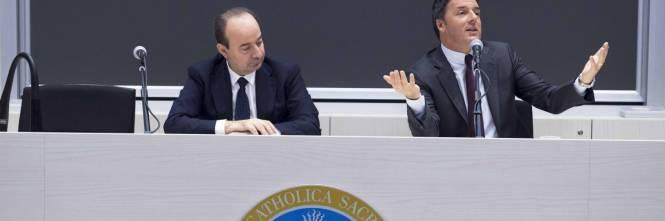 consegna veloce pensieri su sezione speciale La telefonata di Renzi al rettore: