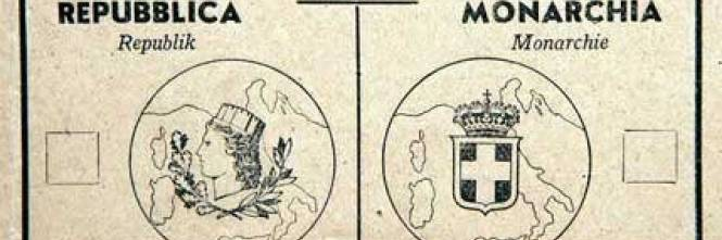Le schede truccate del referendum del 39 46 mio padre vide for Nascita repubblica italiana