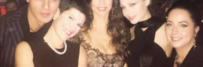 Manuela Arcuri e il party per i suoi 40 anni 1