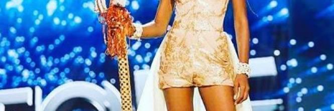 Hawa Kamara, a Miss Universo la bellezza della Sierra Leone 1