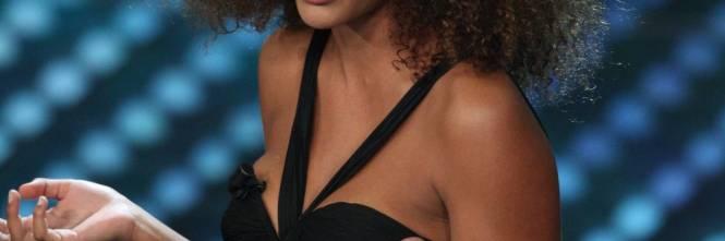 All'Ariston la modella Tina Kunakey Di Vita 1