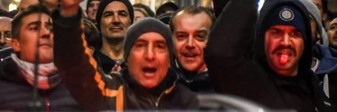 La protesta dei tassisti a Milano  1