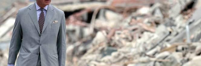 Amatrice, il principe Carlo in visita nel paese distrutto dal terremoto 1