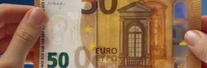 2b1919cf69 La nuova banconota è più robusta e resistente ed è più sicura contro le  contraffazioni. Il nuovo taglio da 50 euro arriva dopo quelli da 5, ...