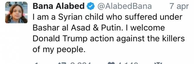 """Fake news e propaganda in Siria: è tornata anche """"la piccola Bana"""" 1"""