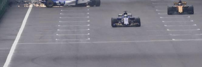 F1, l'incidente di Antonio Giovinazzi 1