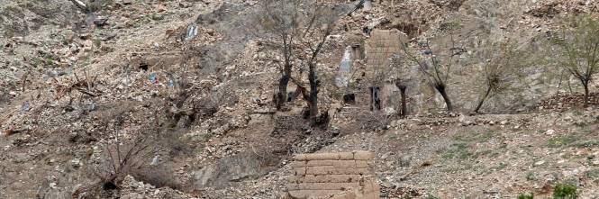 Ecco cosa resta dopo l'esplosione della Moab 1