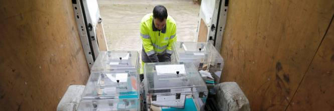 Urne aperte per il voto francese 1