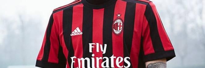 divisa AC Milan nuova
