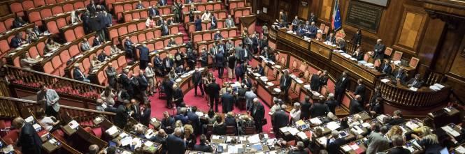 M5s e mdp cercano di bloccare il rosatellum for Camera del senato