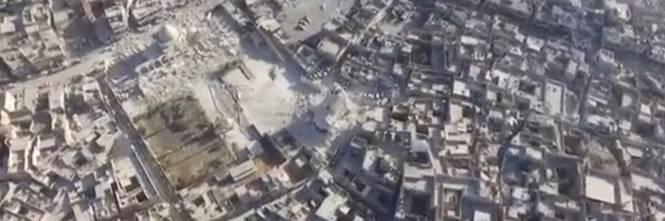 Mosul, la distruzione della grande moschea di al Nuri 1