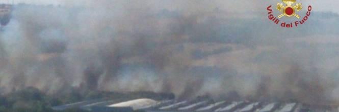 Incendio a Termoli, evacuato stabilimento Fiat 1