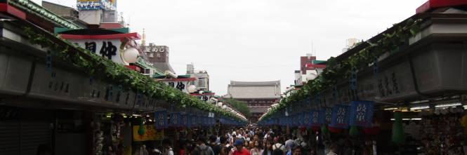 Asakusa, dove all'ombra del Tuono nuotano le carpe 1