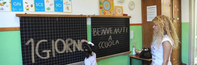 Italiaans meisje in klas met 18 buitenlandse kinderen