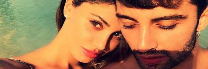 Belen Rodriguez e Andrea Iannone sexy in foto 1