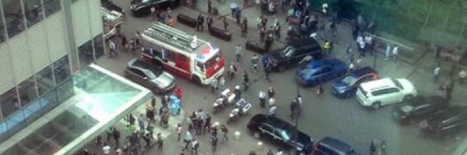 Mosca, 20mila evacuati per allarme bomba 1
