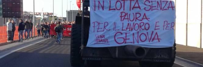 Ilva in sciopero  1