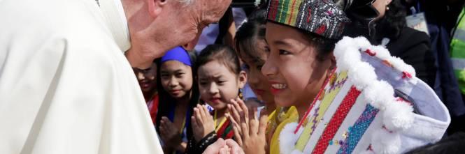 Il viaggio del Papa in Myanmar 1