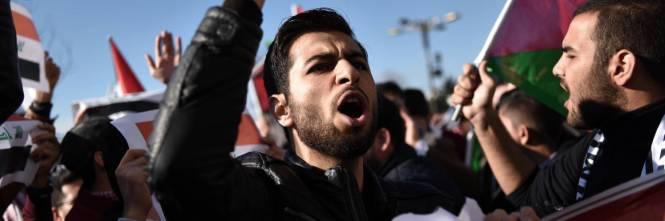 La protesta contro Trump per le strade di Istanbul 5