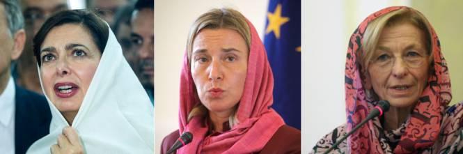 Boldrini, Mogherini e Bonino: finte femministe sottomesse