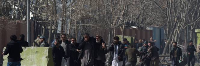 I feriti nell'attentato di Kabul 1