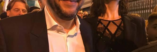 Salvini e la Isoardi a Sanremo 1