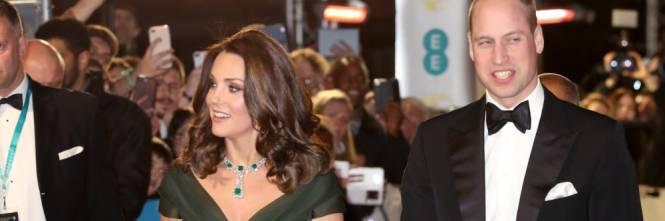 Kate Middleton incinta ai Bafta 2018 12