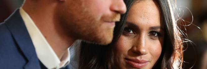 Meghan Markle raggiante col Principe Harry 1