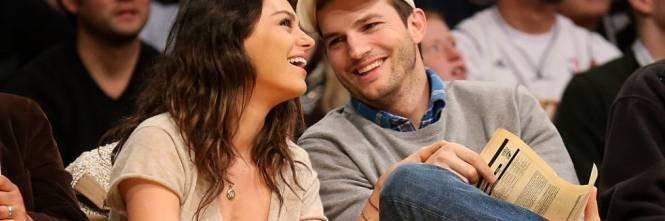 Ashton Kutcher e Mila Kunis sexy insieme 1