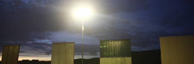 I prototipi del muro anti migranti con il Messico 1