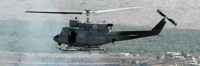 Elicottero Marina Militare : Precipita elicottero della marina militare un morto