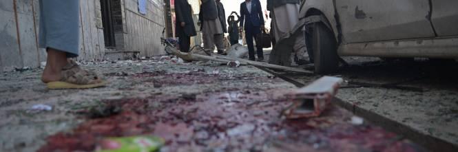 Attentato al centro di registrazione a Kabul 1