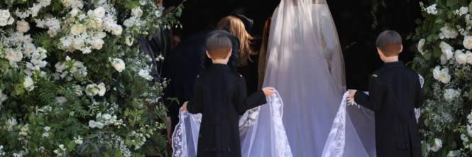 Royal Wedding: i principini come paggetti 1