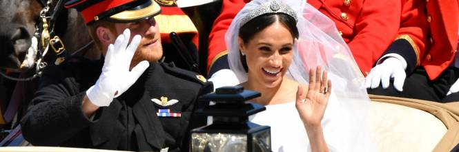 Royal Wedding: il giro in carrozza di Harry e Meghan 1