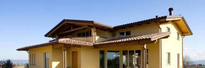 Case in legno bioedilizia per la ricostruzione nelle for Case di legno rumene