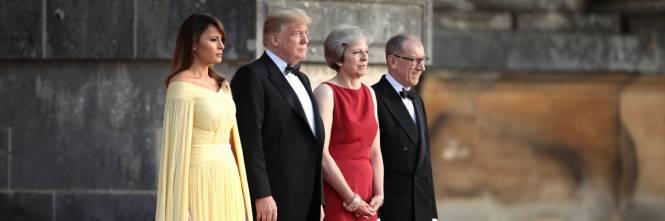Melania Trump nel Regno Unito 1