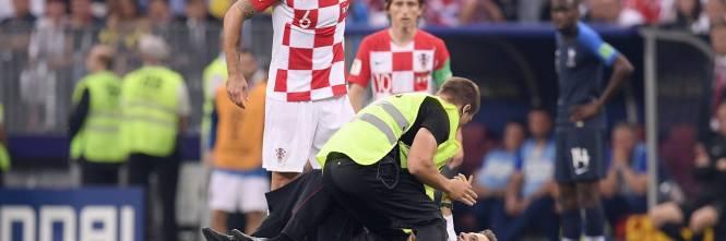 Invasione di campo durante la finale dei Mondiali 1