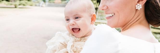 Le foto ufficiali del battesimo del principe Louis 1
