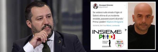 Il Post Choc Del Militante Pd Non Salverei Figlio Di Salvini