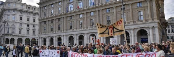 Genova, la protesta contro il governo 1