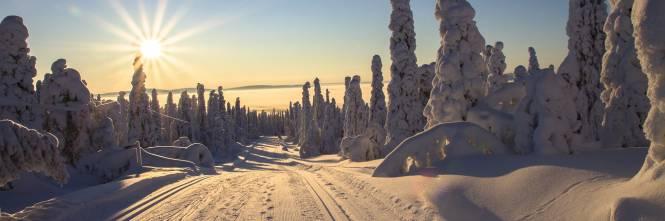 Lapponia E La Casa Di Babbo Natale.Non Nevica In Lapponia Da Babbo Natale Cancellati I Viaggi