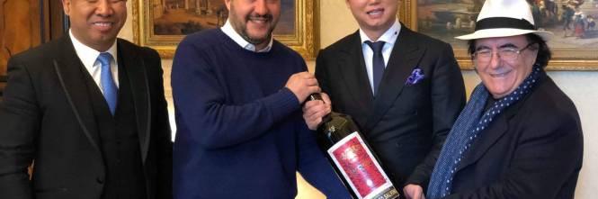 Salvini incontra Al Bano 1