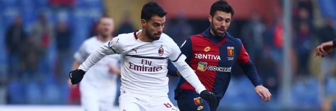 5765eb6b50 Il Milan passa a Marassi  Genoa ko 2-0 e quarto posto in classifica