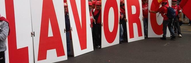 Salerno, chiude l'azienda Treofan, lavoratori in presidio