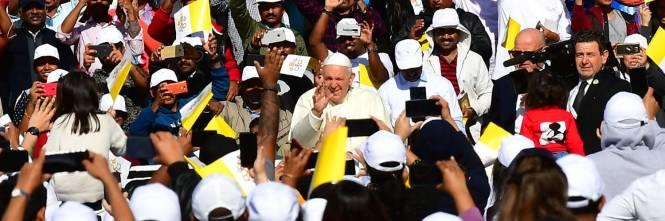 La Messa di papa Francesco negli Emirati 1
