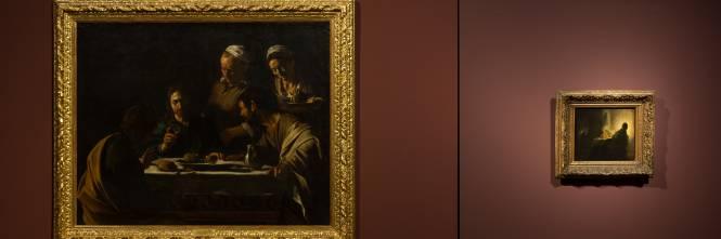 Centro Mobili Design Caravaggio.Caravaggio Rembrandt Dialogo A Cena Alla Pinacoteca Di Brera