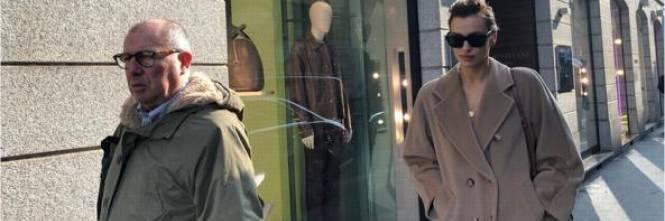 Irina Shayk shopping a Milano